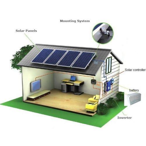 Sistem Fotovoltaic BenQ Hibrid 48V MPPT 2KWp Poli GEL 12KW/zi-Stocare 24kw