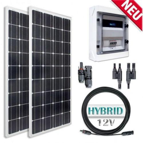 Sistem Hibrid Fotovoltaic Policristalin Lithium-Ion 200Wp 1kw/zi