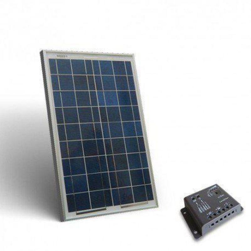 KIT SOLAR FOTOVOLTAIC PENTRU ILUMINAT INTERIOR 12V 160W - Panouri Fotovoltaice