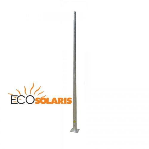 Stalp galvanizat octagonal 10M - Panouri Fotovoltaice